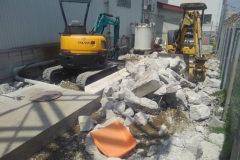 解体工事は効率化によって適正なコストダウンが可能です!