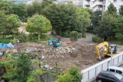 木造解体後の土地の整地作業について